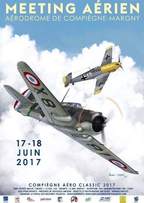 Retour sur le Compiègne Aéro Classic 2017 : Photos et reportage de Oise TV